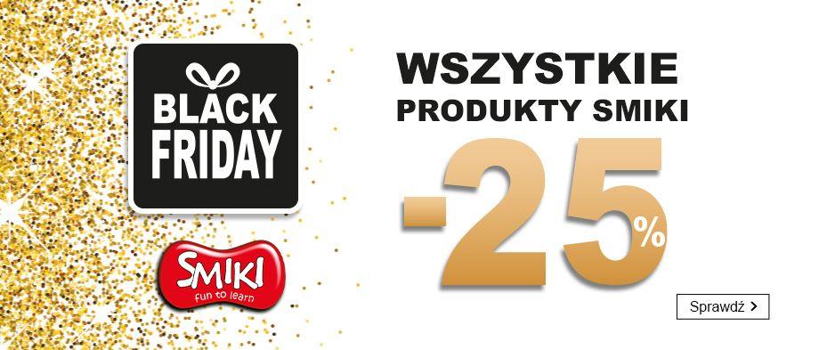 Smyk: Black Friday 25% zniżki na wszystkie produkty marki Smiki