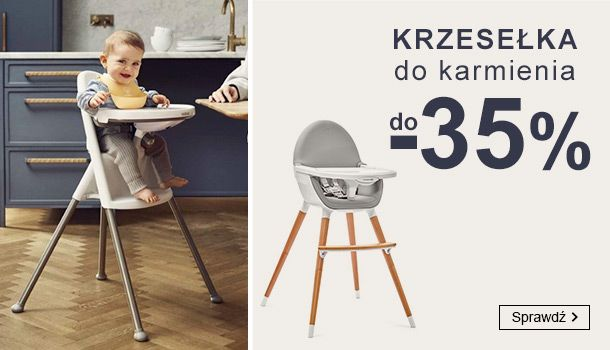 Smyk Smyk: do 35% zniżki na krzesełka do karmienia