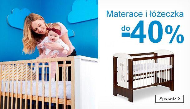Smyk: do 40% zniżki na materace i łóżeczka dziecięce                         title=