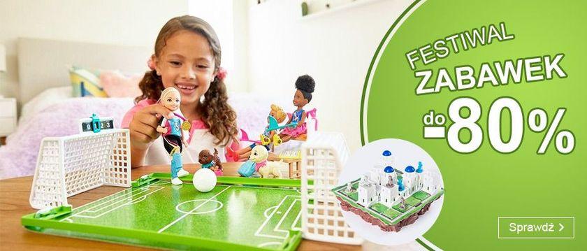 Smyk Smyk: Festiwal Zabawek do 80% rabatu na zabawki