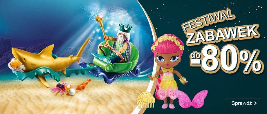 Smyk: do 80% zniżki na zabawki dla dzieci - Festiwal Zabawek