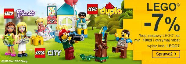 Smyk: 7% rabatu na klocki Lego                         title=