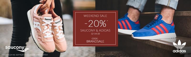 Sneaker Studio: wyprzedaż 20% zniżki na obuwie marek Saucony i Adidas