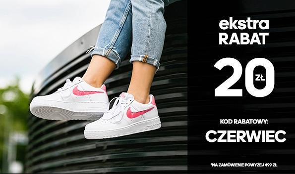 Sneakers: dodatkowe 20 zł rabatu na zakupy przy zamówieniach powyżej 499 zł