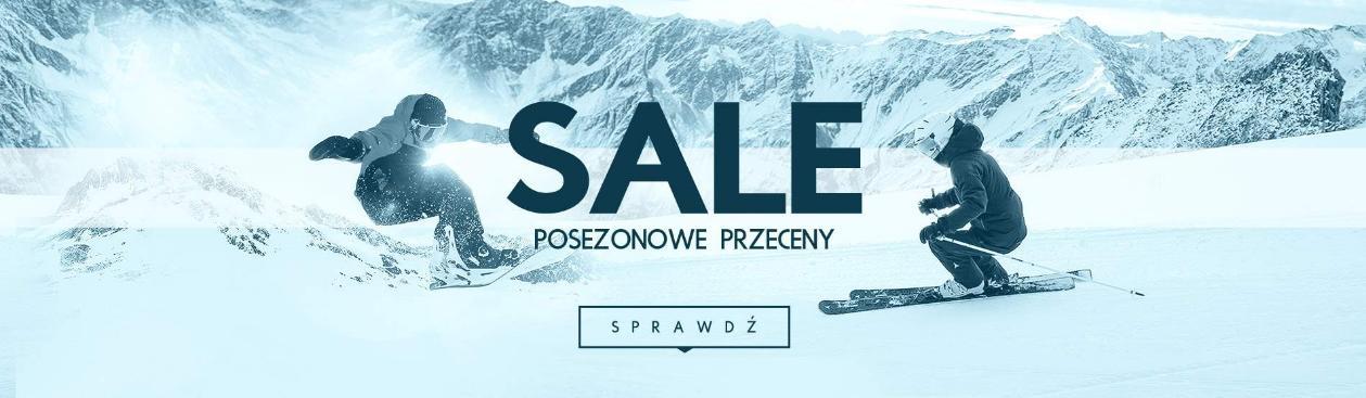 Snow Shop: wyprzedaż do 60% zniżki na sprzęt, odzież oraz akcesoria dla narciarzy i snowboardzistów
