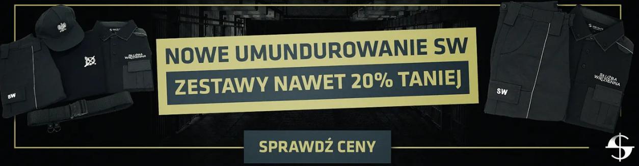Sortmund: do 20% rabatu na nowe umundurowanie SW