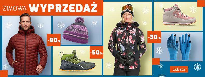 Sport Shop: zimowa wyprzedaż do 80% zniżki na odzież, obuwie i akcesoria zimowe