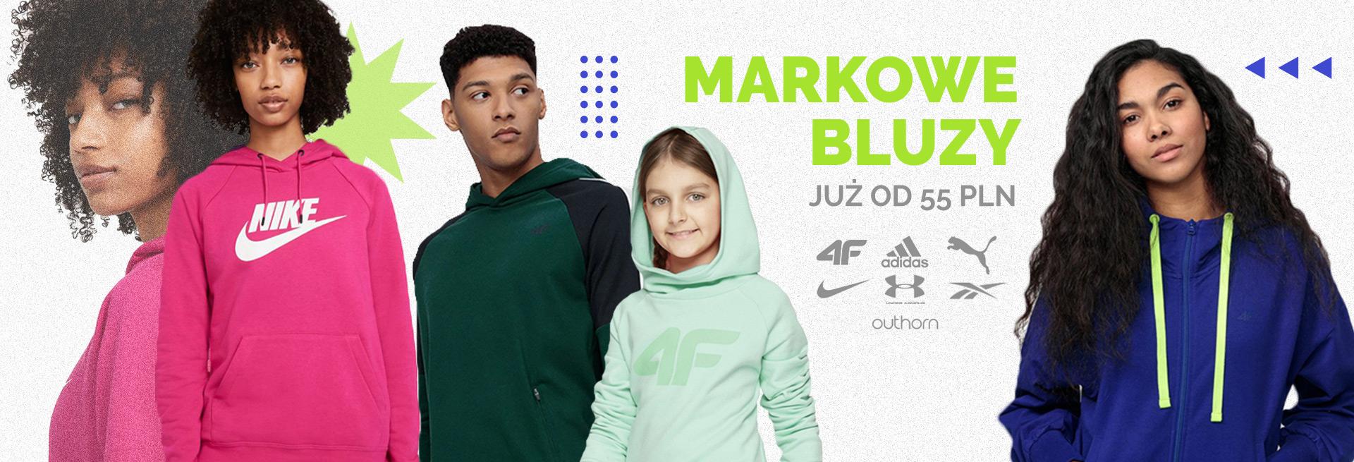 Sport Bazar: markowe bluzy już od 55 zł
