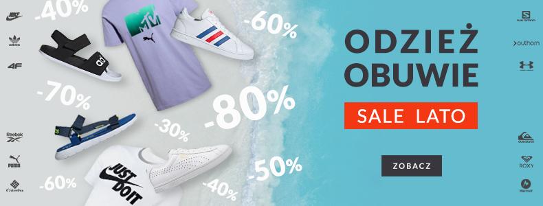 Sport Shop: wyprzedaż do 80% rabatu na odzież i obuwie sportowe