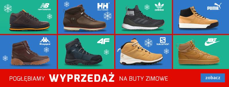 Sport Shop: wyprzedaż do 80% rabatu na obuwie m.in. New Balance, Helly Hansen, Adidas, Puma, Kappa, 4F, Salomon, Nike