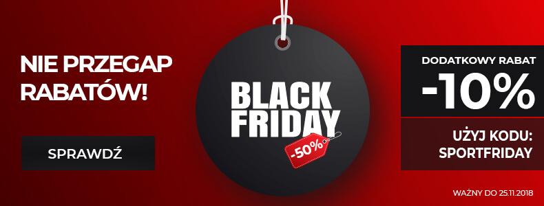 Black Friday Sport Shop: 50% rabatu na odzież, obuwie i akcesoria sportowe