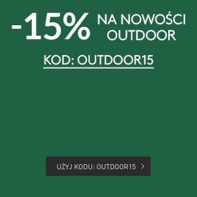 Sportofino: 15% zniżki na nowości outdoor