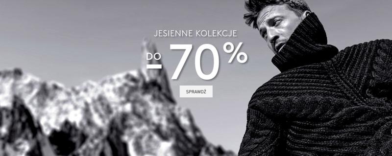 Sportofino: do 70% rabatu na jesienne kolekcje