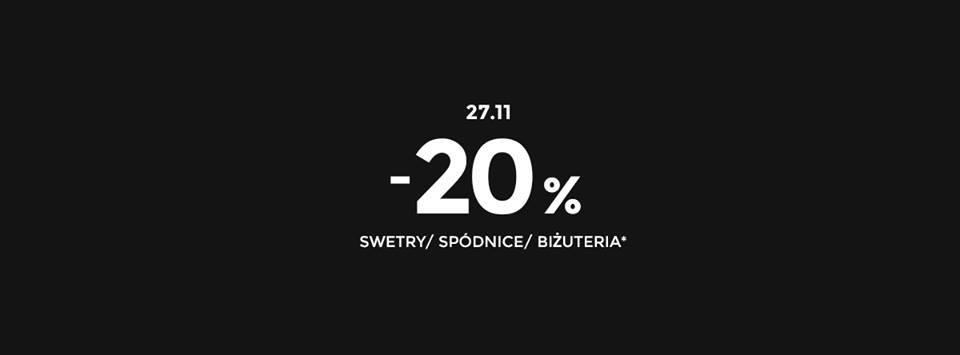 Black Friday w Stradivarius: 20% zniżki na swetry, spódnice, biżuterię