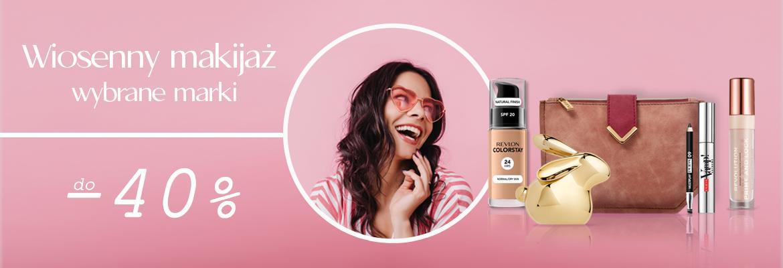 Strefa Urody: do 40% zniżki na wybrane marki kosmetyków do makijażu