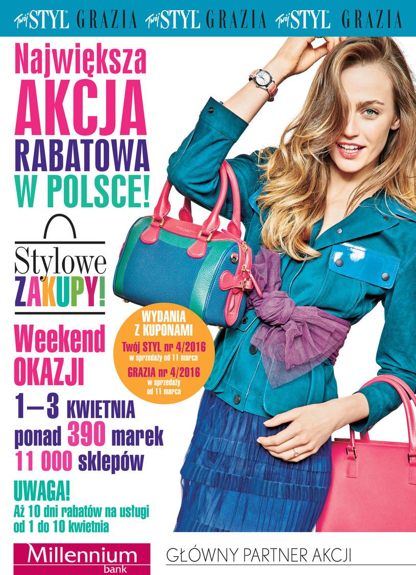 Stylowe Zakupy w całej Polsce 1-3 kwietnia 2016
