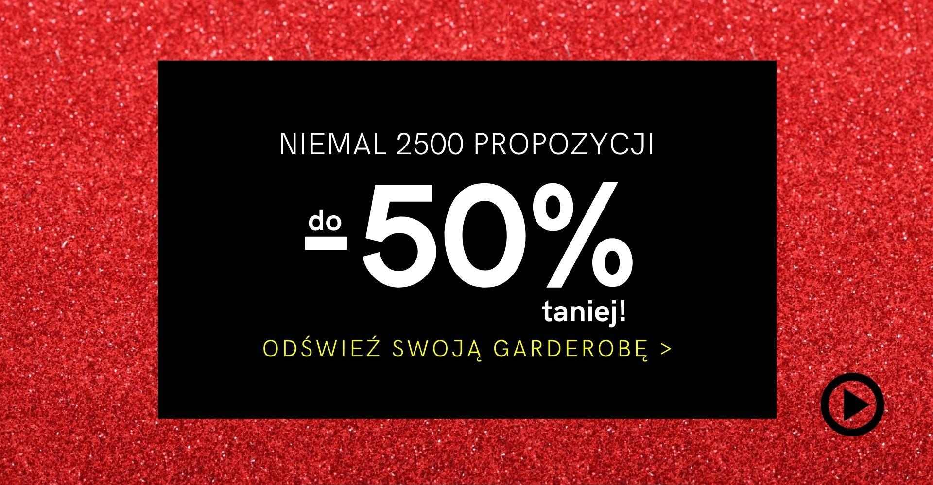 Sukienki Shop Sukienki Shop: wyprzedaż do 50% rabatu na sukienki, spódnice, swetry, bluzy i komplety