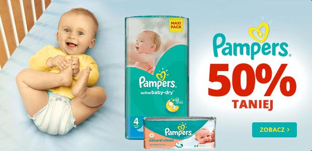 Super Koszyk: 50% rabatu na produkty marki Pampers