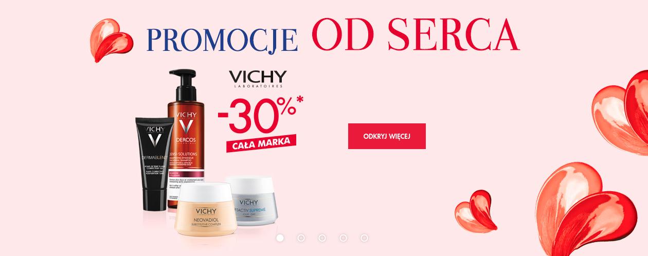 Super-Pharm: 30% zniżki na produkty marki Vichy