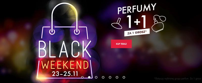 Black Weekend Super-Pharm: wybrane perfumy 1 + 1 za gr