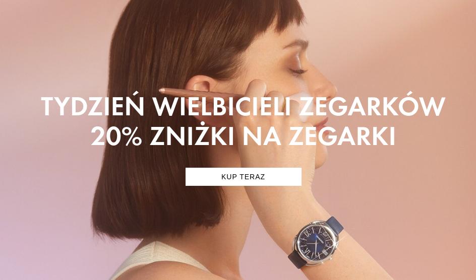 Swarovski: 20% zniżki na zegarki