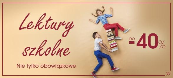 Świat Książki: do 40% rabatu na lektury szkolne                         title=