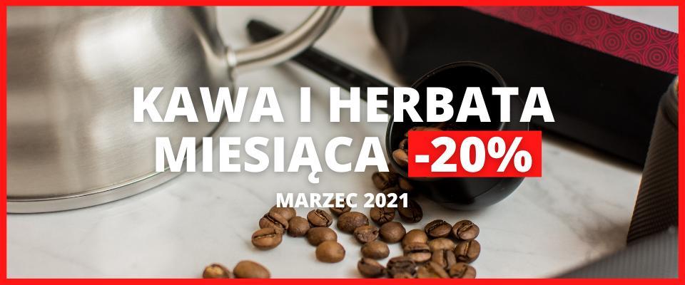 Świeżo Palona Świeżo Palona: 20% zniżki na kawę i herbatę miesiąca