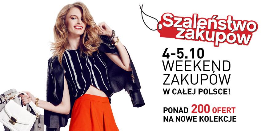 Szaleństwo Zakupów w całej Polsce 4-5 października 2014