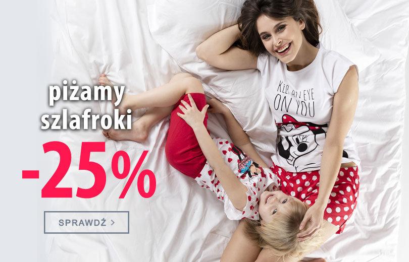 TXM24: 25% rabatu na piżamy i szlafroki