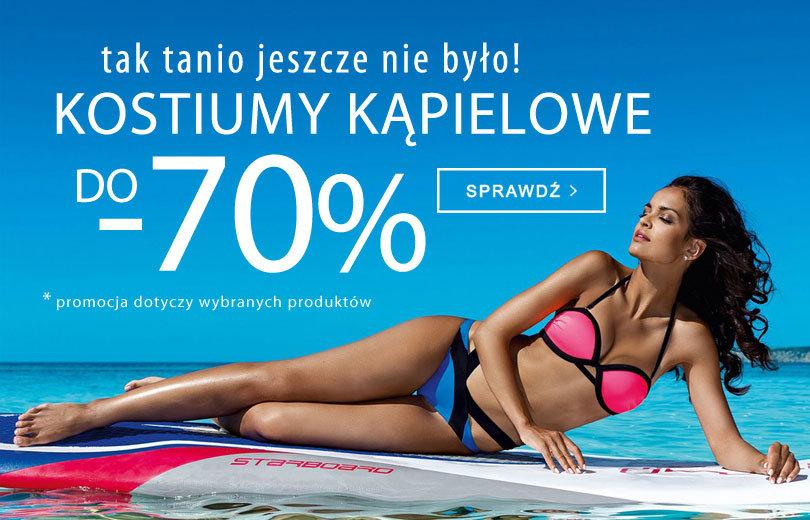 e7d79fec32e45f TXM: wyprzedaż do 70% rabatu na kostiumy kąpielowe
