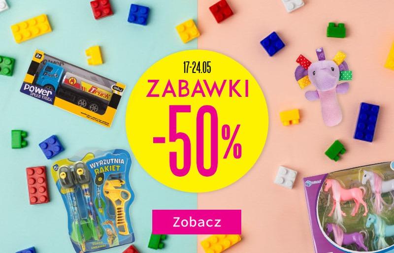 TXM: 50% rabatu na zabawki dla dzieci