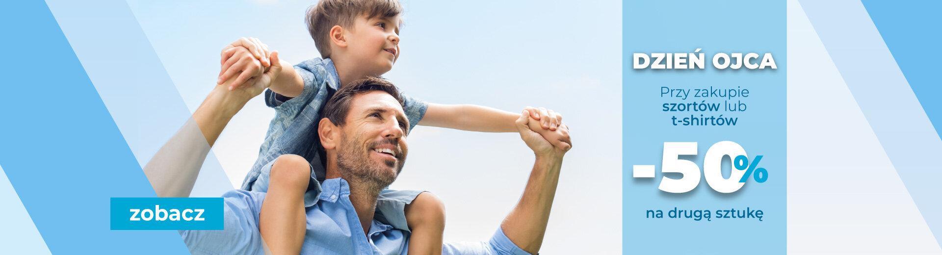 TXM: 50% zniżki na drugą sztukę przy zakupie szortów lub t-shirtów z okazji Dnia Ojca