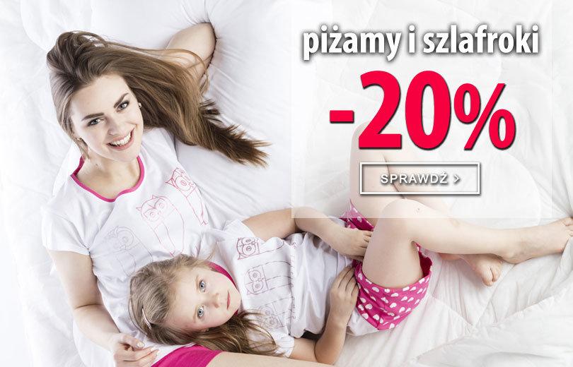 TXM24: 20 zniżki na piżamy i szlafroki