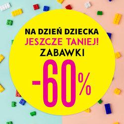 TXM: 60% zniżki na zabawki dla dzieci na Dzień Dziecka