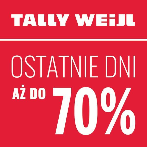 Tally Weijl: ostatnie dni wyprzedaży do 70%