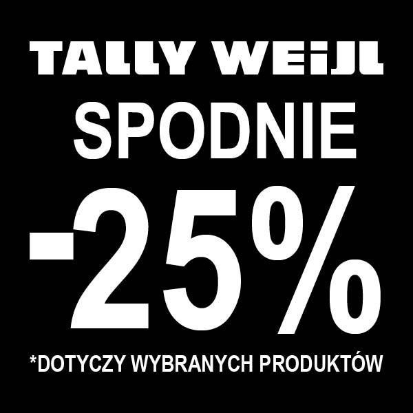 Tally Weijl: 25% zniżki na spodnie