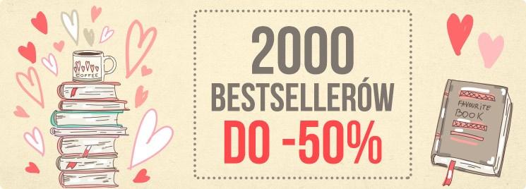 Taniaksiazka Taniaksiazka: do 50% zniżki na 2000 bestsellerów