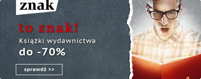 Taniaksiazka: do 70% zniżki na książki Wydawnictwa Znak                         title=