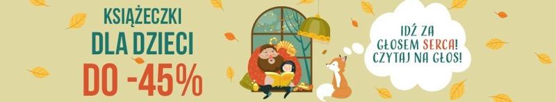 Taniaksiazka: do 45% rabatu na książeczki dla dzieci