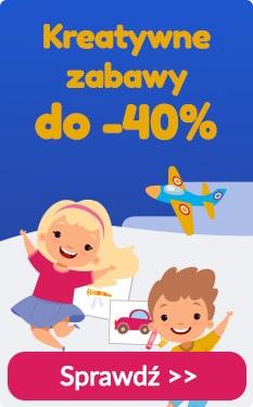 Taniaksiazka: do 40% zniżki na kreatywne zabawy i zestawy plastyczne