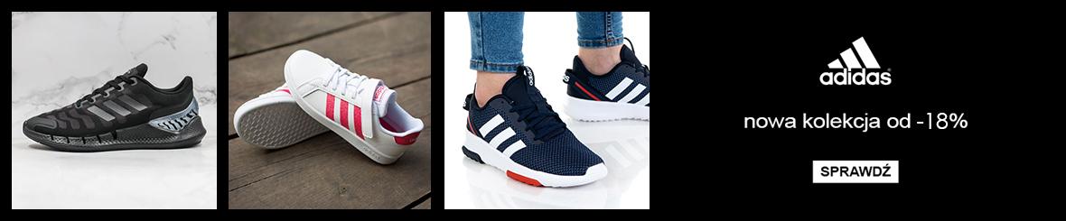 TanieSportowe.pl: od 18% zniżki na obuwie sportowe marki Adidas