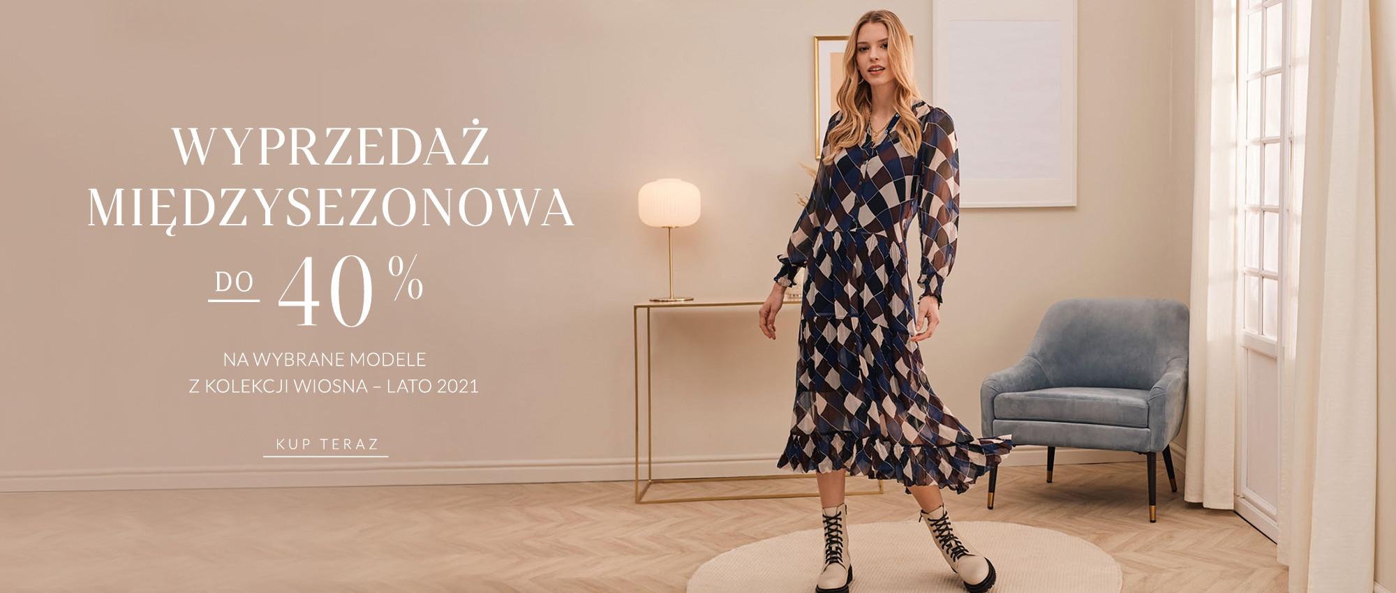 Taranko Taranko: do 40% zniżki na odzież damską z kolekcji wiosna-lato 2021
