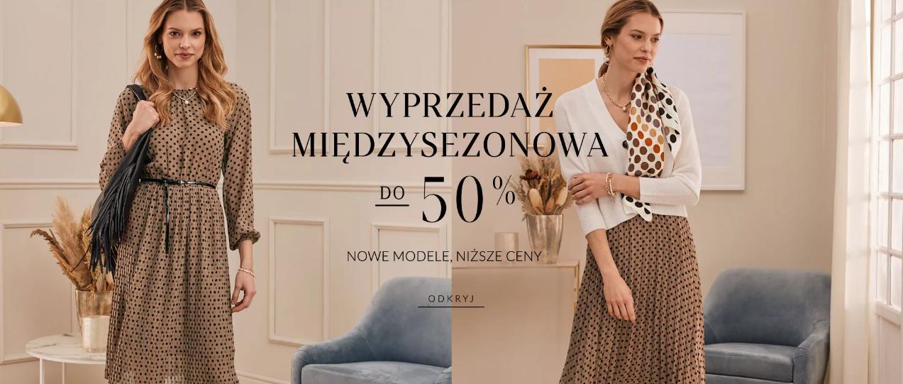 Taranko: wyprzedaż do 50% rabatu na nowe modele odzieży damskiej