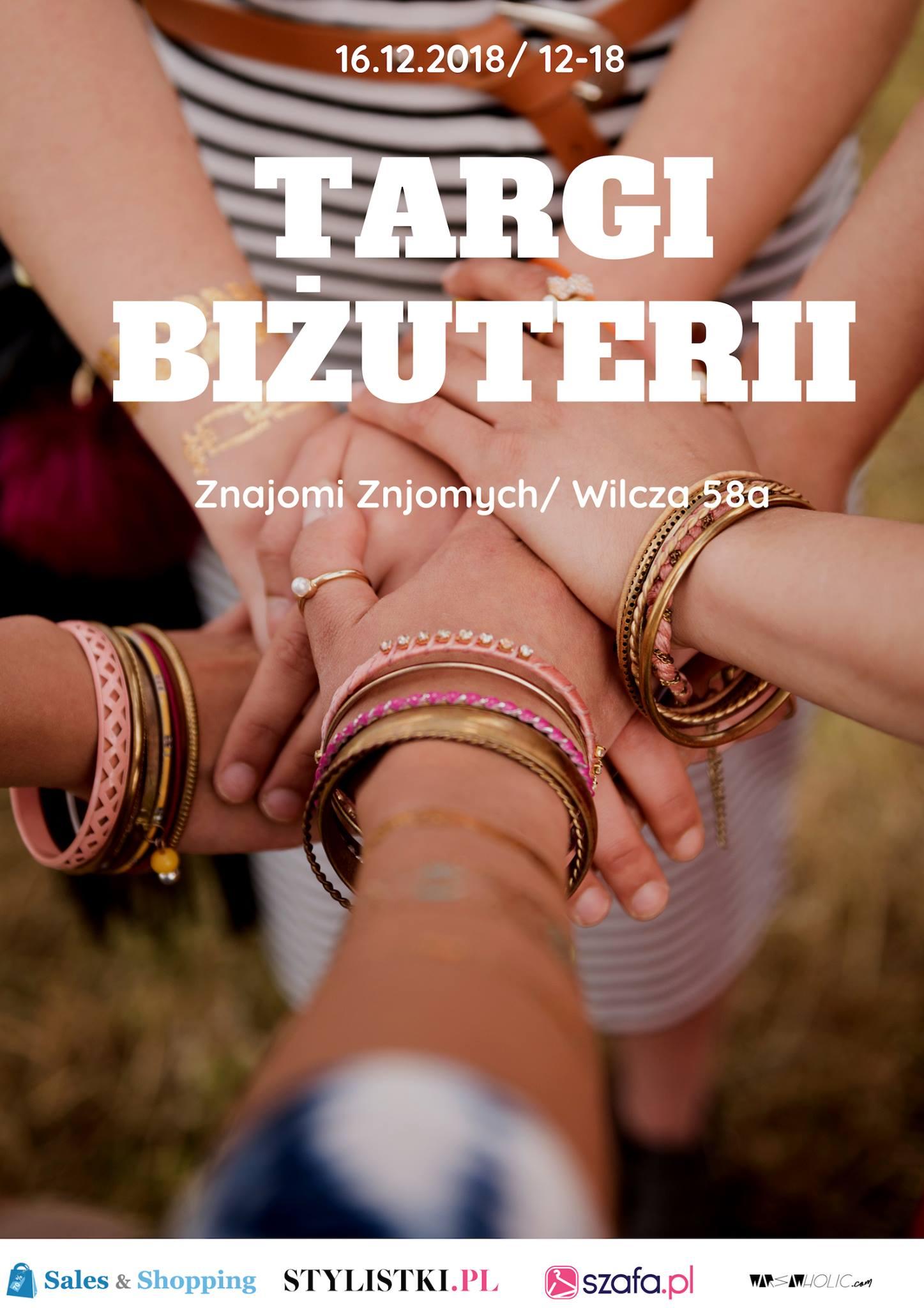 Targi Biżuterii w Warszawie 16 grudnia 2018                         title=