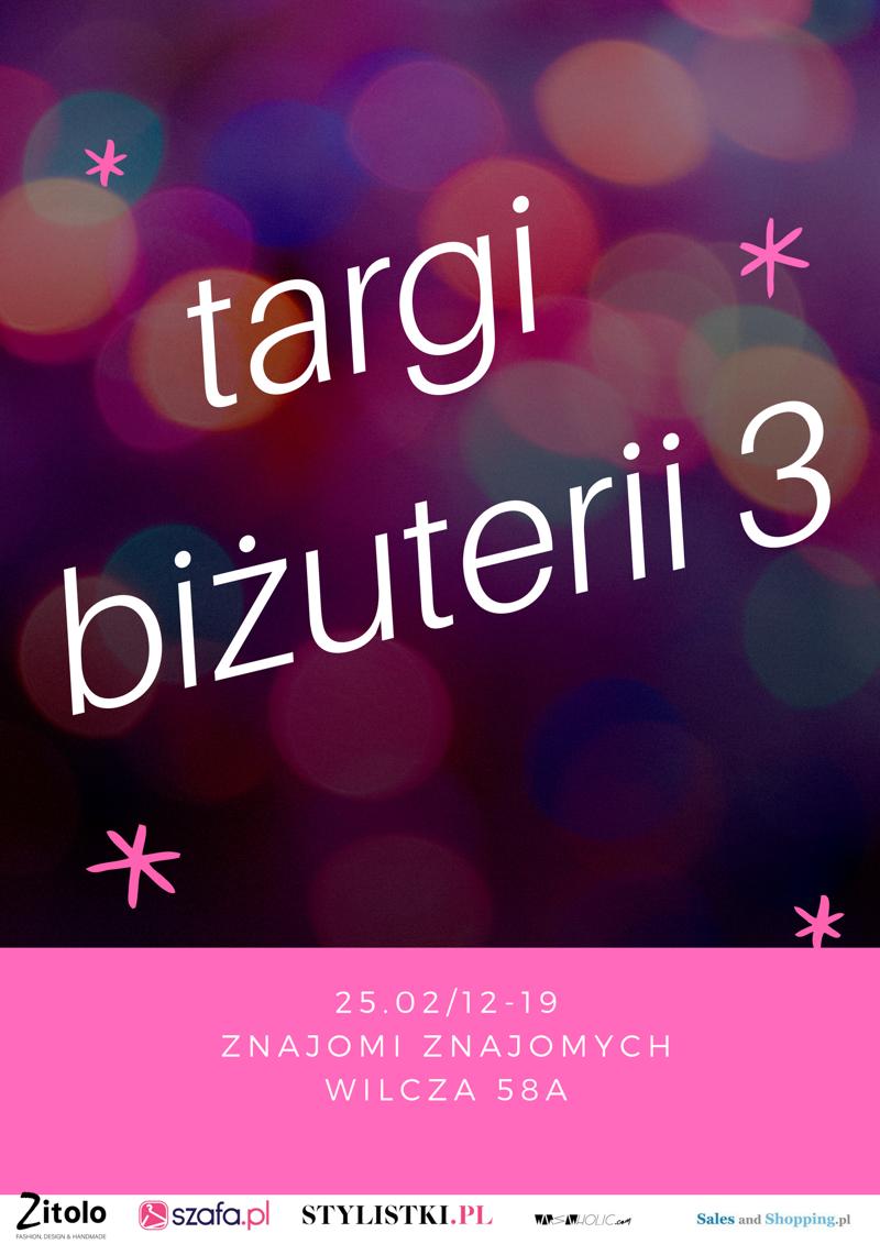Targi Biżuterii w Warszawie 25 lutego 2018                         title=