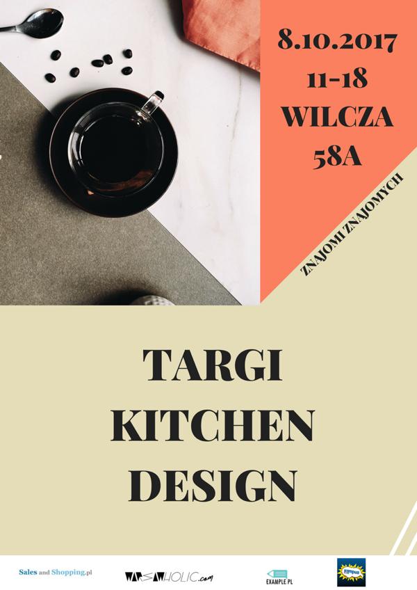 Targi Kitchen Design w Warszawie 8 października 2017