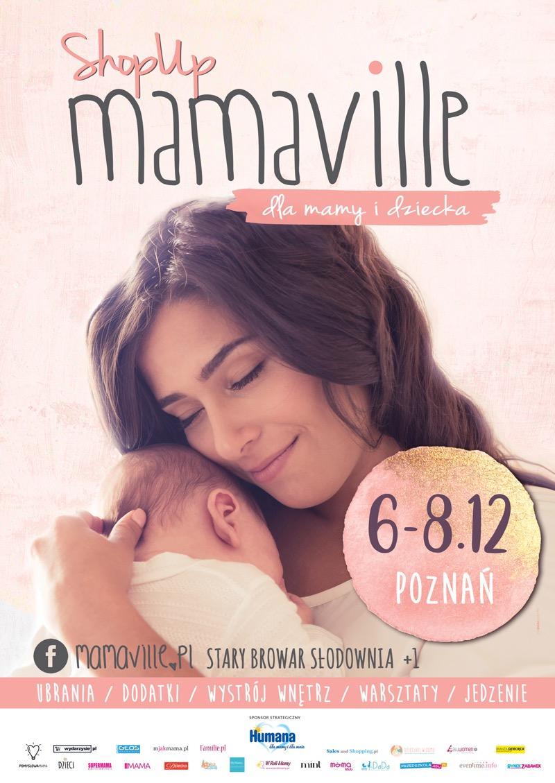 Targi Mamaville w Poznaniu 6-8 grudnia 2018