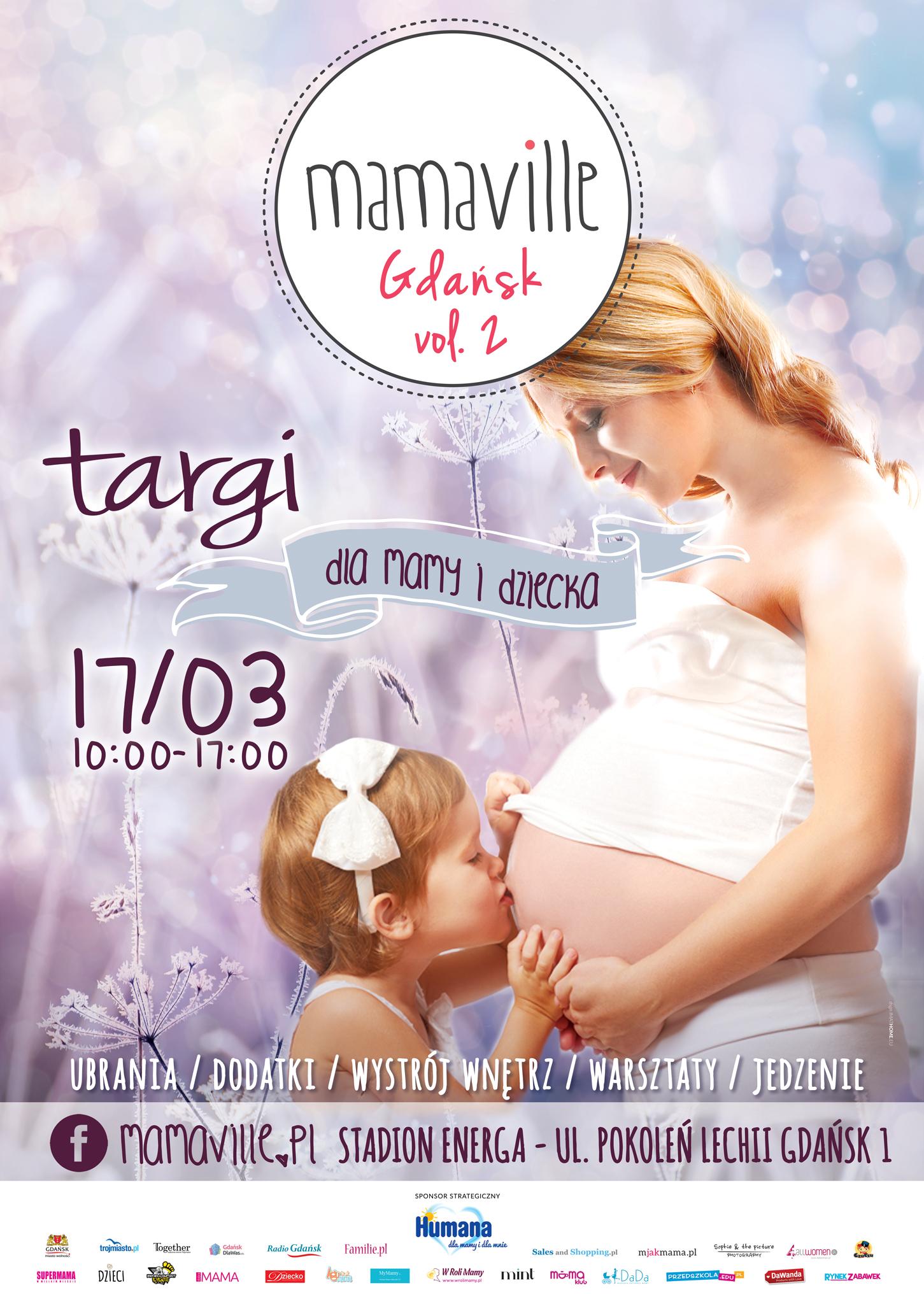 Targi Mamaville w Gdańsku 17 marca 2018                         title=