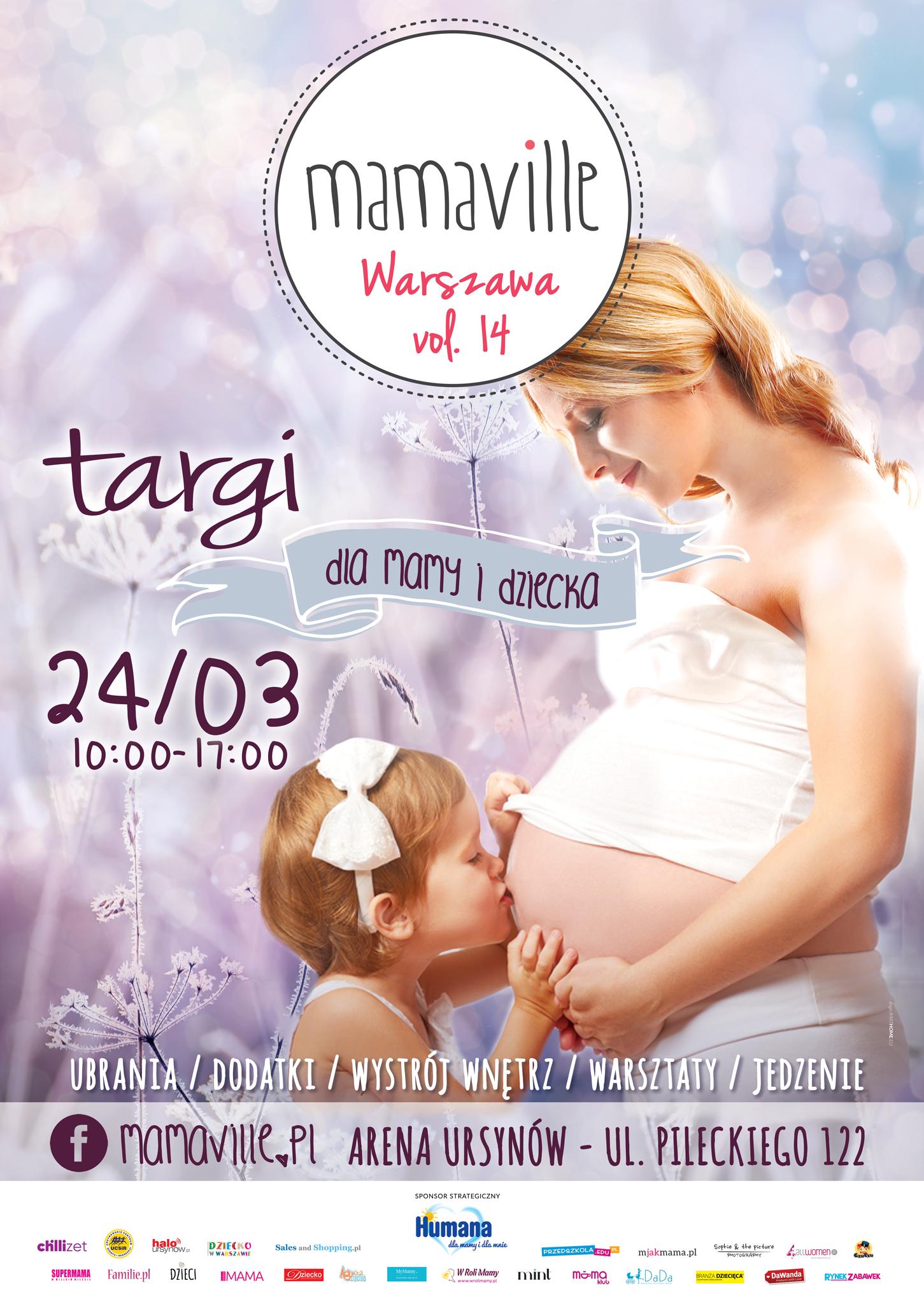 Targi Mamaville w Warszawie 24 marca 2018                         title=