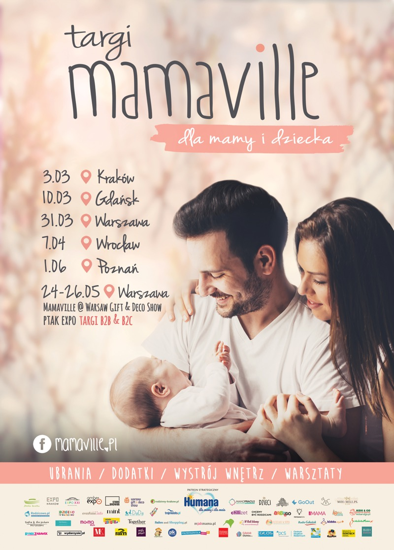 Targi Mamaville w Krakowie 3 marca 2019